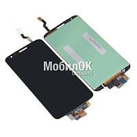 Дисплей для LG G2 D800/D801/D803 черный, с тачскрином  (34pin) High Copy