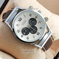 Часы Слава Созвездие Mechanic Silver/White-black
