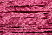 Тесьма акрил 6мм (50м) т.розовый, фото 1