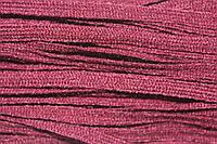 Тесьма акрил 6мм (50м) т.бордовый