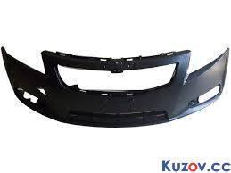 Передний бампер Chevrolet Cruze 09-12 черный (FPS) FP 1711 900 96981088, фото 2