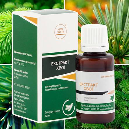 Хвои экстракт (противовоспалительное, отхаркивающее), фото 2