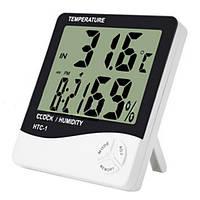 Часы термометр датчик влажности метеостанция