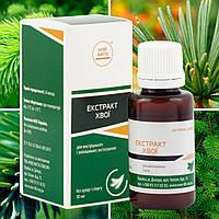 Хвои экстракт - является мочегонным, витаминным и кровоочистительным средством