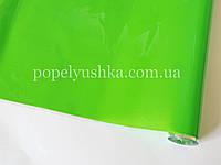 Плівка подарункова однотонна зелена