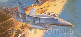 F/A18B HORNET 1/72 FUJIMI F48