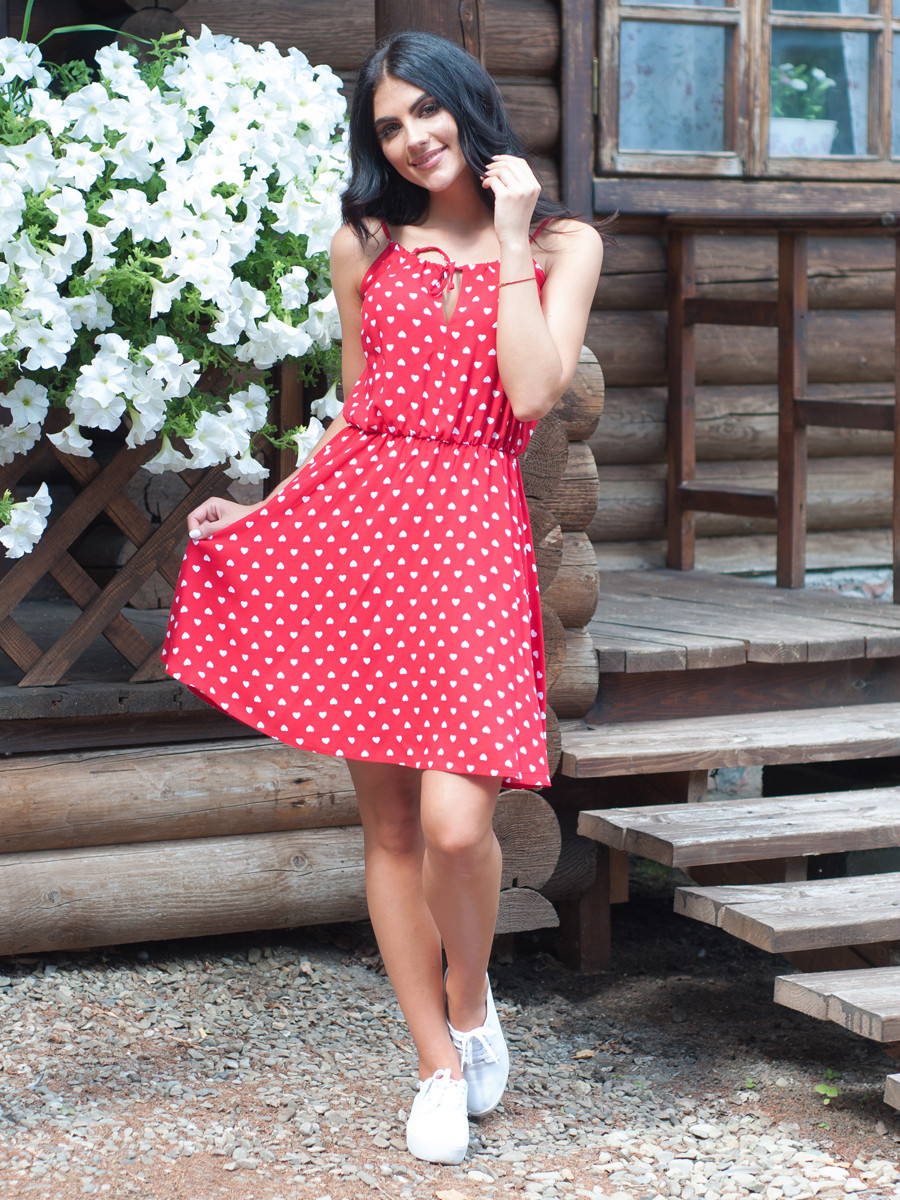 Лёгкое платье на лето Жоржина