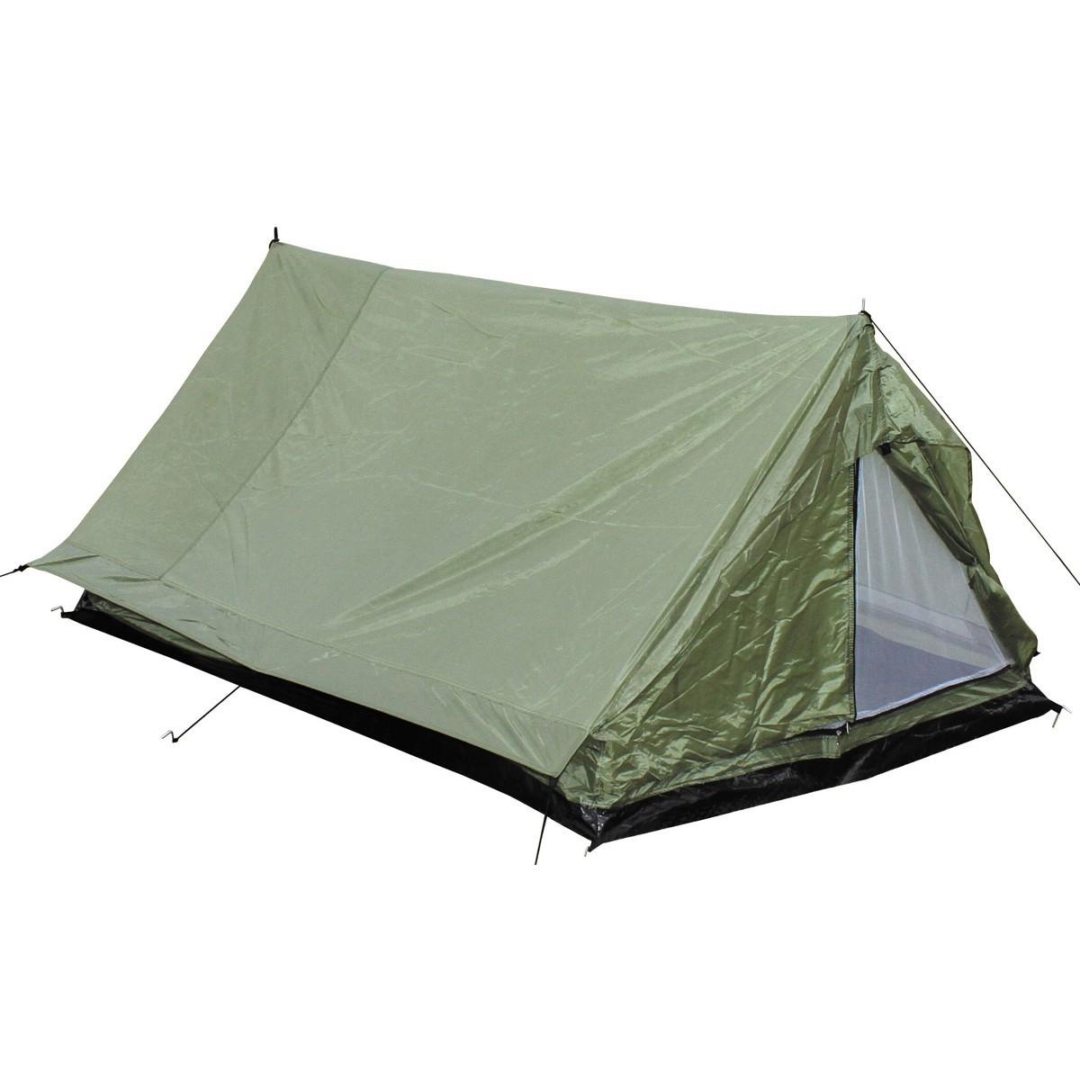 Палатка двухместная MFH Minipack Olive 32123B