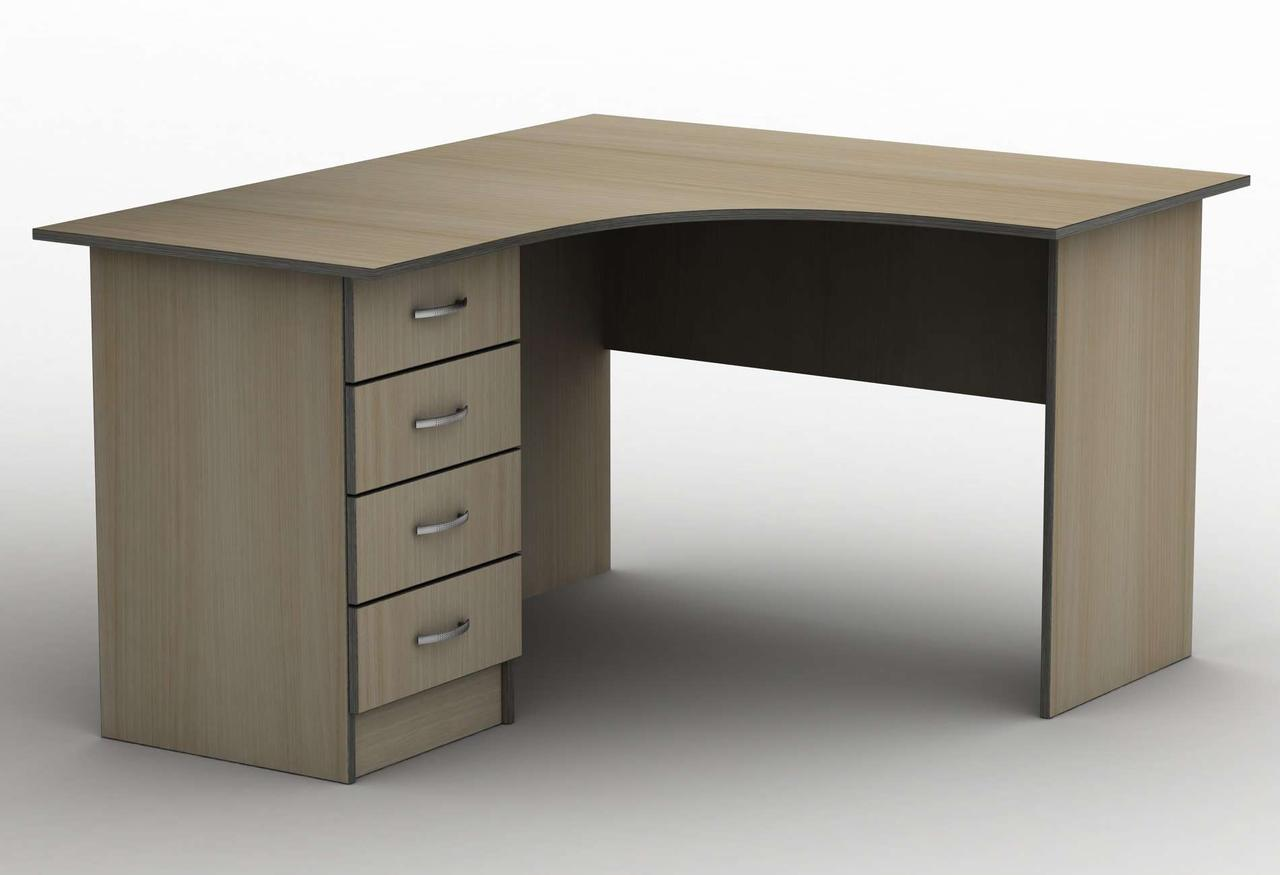 Письмовий стіл СПУ-4\2 (1400*1400) Тіса меблі