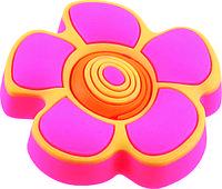 Ручка-кнопка мебельная Floare roz 25 x 41 (Желтый)