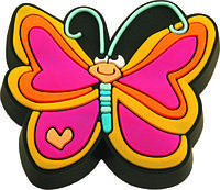 Ручка-кнопка мебельная Fluture roz 21 x 43 x 39 (Черный)