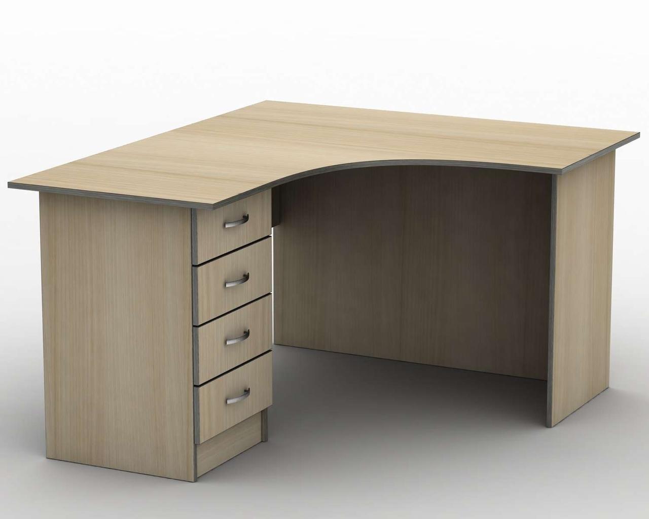 Письмовий стіл СПУ-4\3 (1600*1400) Тіса меблі