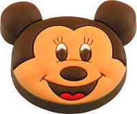 Ручка-кнопка мебельная Mouse-1 22 x 47 x 40 (Коричневый)