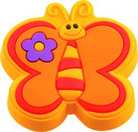 Ручка-кнопка мебельная Fluture galben 21 x 41 x 42 (Оранжевый)