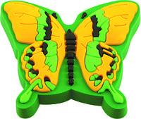 Ручка-кнопка мебельная Fluture galben/verde 21 x 47 x 42 (Зеленый)