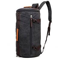 Мужской тканевой рюкзак - сумка