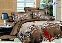Постельное белье евро ранфорс HARLEY,постельный комплект