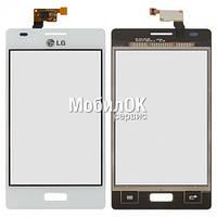 Сенсорный экран для LG E610 Optimus L5/E612 Optimus L5 белый