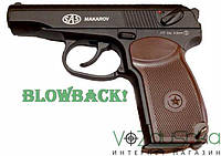 Обзор SAS Makarov Blowback