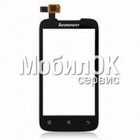 Сенсорный экран для Lenovo A369i черный