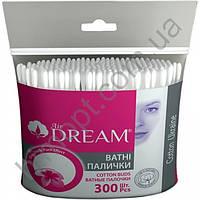 """Ватные палочки ТМ """"Аir Dream"""" 300шт"""