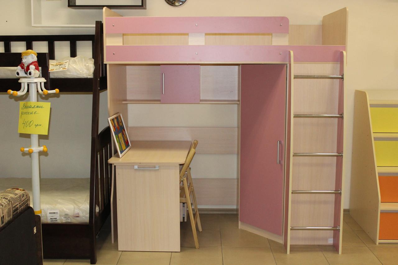 Дитяче ліжко-стіл серії 7-3-3-92 зі складу