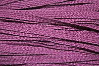 Тесьма акрил 6мм (50м) т.сиреневый , фото 1