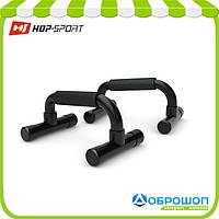 Упоры для отжиманий наклонные Hop-Sport black