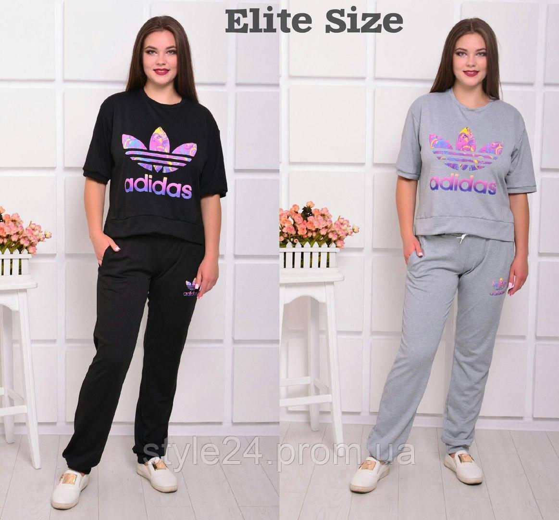 Жіночий спортивний костюм великих розмірів(46-58)  продажа 0403c84aa893b