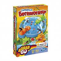 Настольная игра  Gaming Голодные бегемотики Дорожная версия Hasbro B1001121