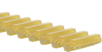 Ремни приводные плоскозубчатые полиуретановые двусторонние