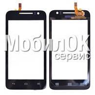 Сенсорный экран для Huawei U8825D Ascend G330D черный