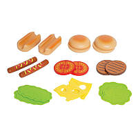Игровой набор Гамбургеры и Хот-доги Hape (E3112)