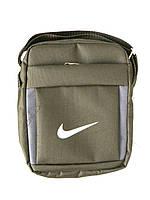 Мужская сумка через плече Nike, чоловiчi сумки Найк, молодежная сумка через плече, сумка для документов   репл