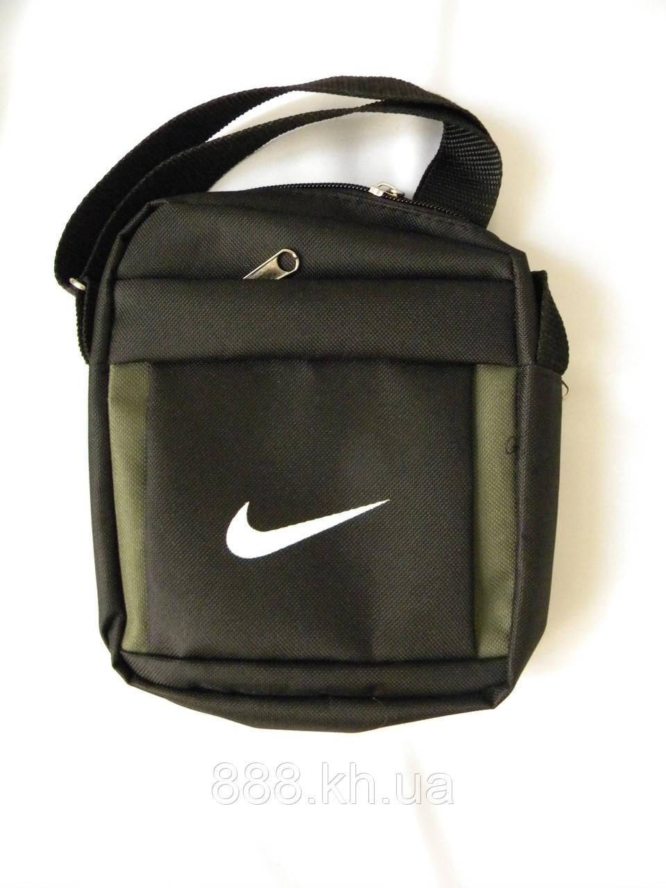 Мужская сумка через плече Nike, чоловiчi сумки Найк, молодежная сумка через плече, сумка для документов   реплика - P A N D A в Харькове