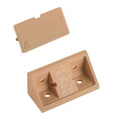 Уголок мебельный пластиковый (Коричневый)