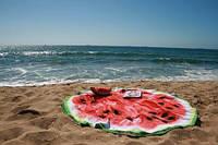 Пляжный 3D коврик Арбуз