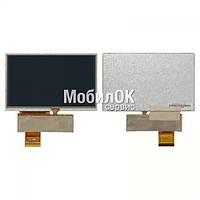 """Дисплей для автонавигатора Navi N50 HD, 5.0"""", 40 pin с тачскрином (800*480) (QD050001C0-40)"""