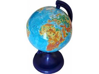 Глобус физический, 9 см