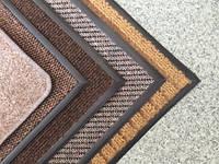 Придверный ковры бежевые (коричневые)