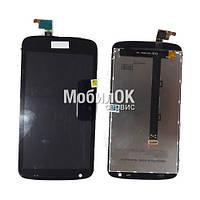 Дисплей для HTC Desire 326G черный, с тачскрином