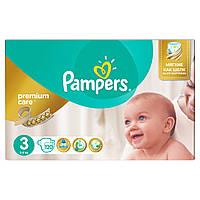 Дитячі підгузники PAMPERS Premium Care Midi (4-9 кг) 120 шт