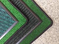 Брудозахисні килими зеленого кольору