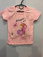 Детская футболка для девочки 8 л