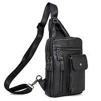 Кожаная сумка - рюкзак