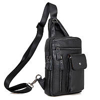Кожаная сумка - рюкзак 4006A
