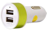 Универсальное автомобильное зарядное устройство 2 USB EasyLink 210 2.1A