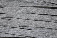 Тесьма акрил 10мм (100м) серый , фото 1