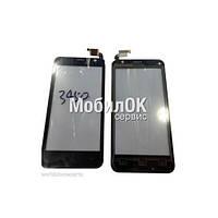 Сенсорный экран для Prestigio MultiPhone 3450 Duo черный, #QT052354506 WTP-C14.5BA-F