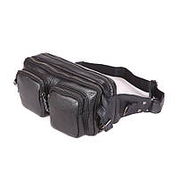Кожаная сумка на пояс 7352A